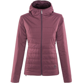 Black Diamond First Light Hoody Jacket Women Wine